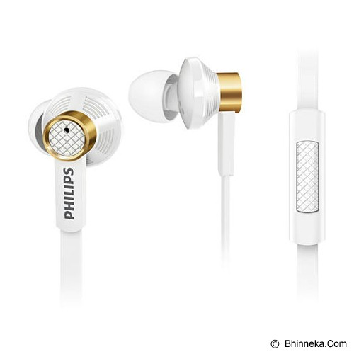PHILIPS In Ear with microphone [TX2 WT] - White - Earphone Ear Monitor / IEM